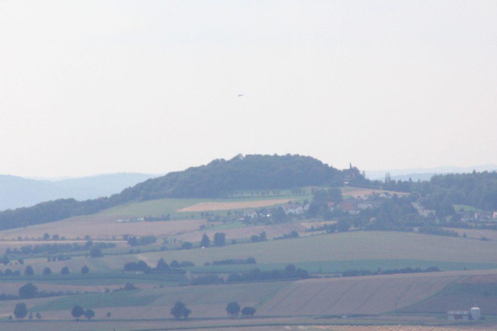 Blick auf den Frauenberg von der Amöneburg