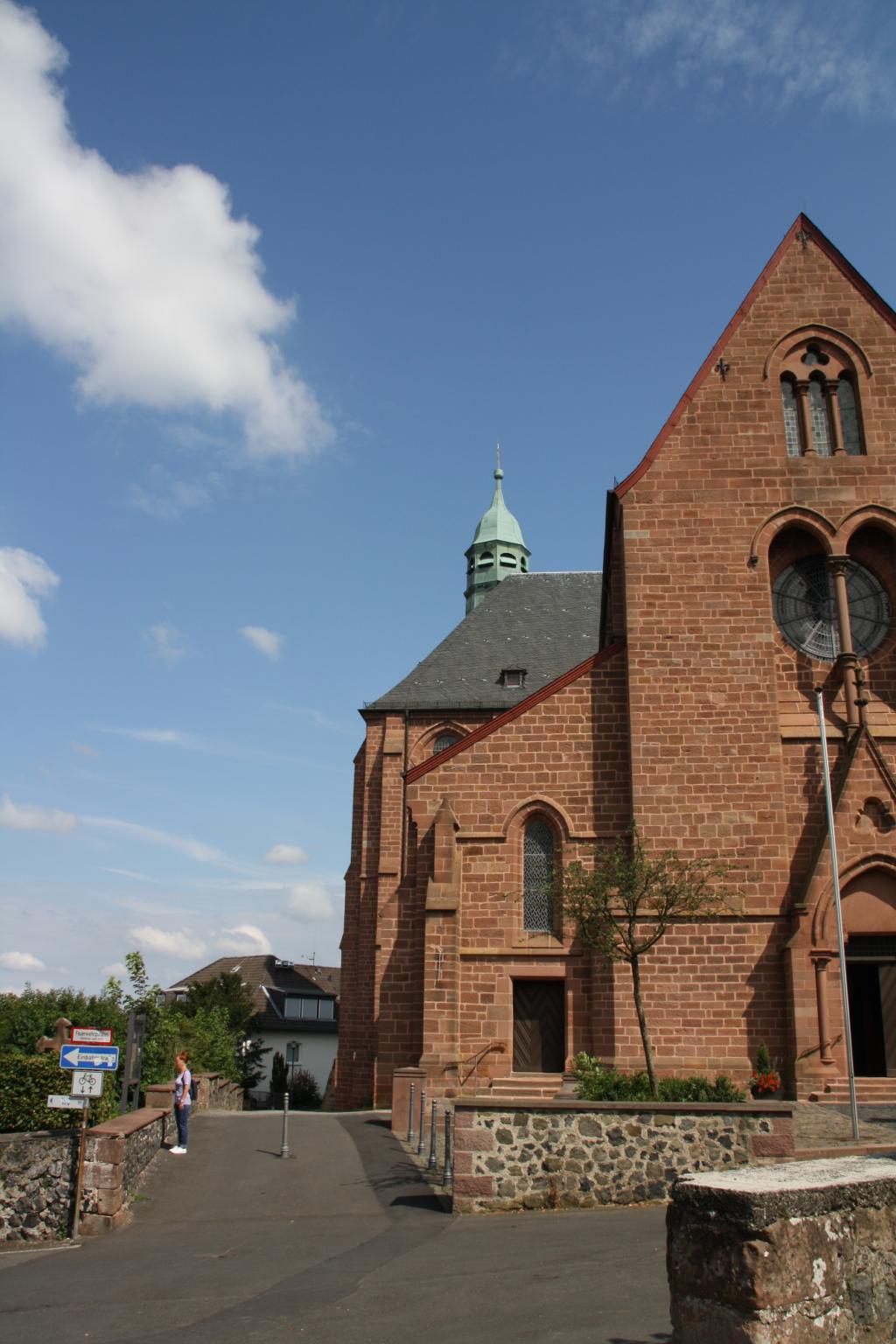 Der Turm der Stiftskirche auf der Amöneburg