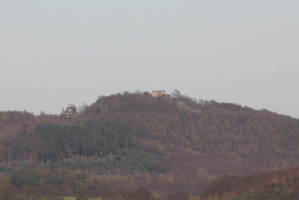 Blick auf den Frauenberg von Oberweimar