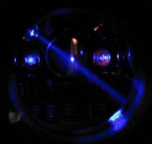 Ein Blick in die Strontium-Atomuhr der Universität von Colorado